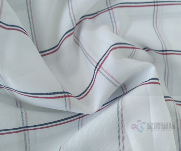 Striped Plain Cotton Yarn Dyed Fabric For Garment1