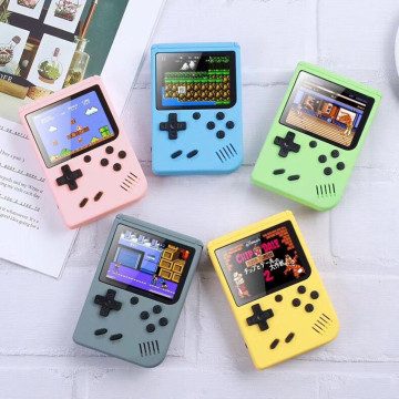 500 In 1 Games MINI Portable Retro Video Console Handheld Game Players Boy 8 Bit 3.0 Inch Color LCD Screen Gameboy