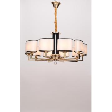 Modern Delicate Villa Project French Gold Iron Chandelier