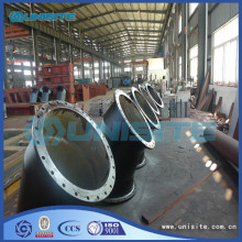Hot equal welded steel bends