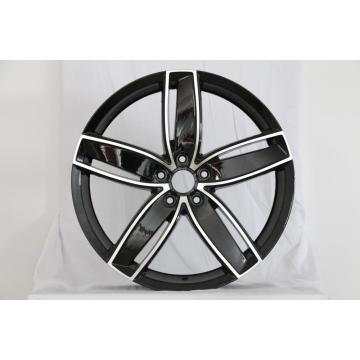 Replica 5spoke Black 20inch alloy wheel