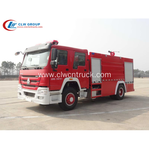 Cheap & Hot Sale SINOTRUCK HOWO Anti-fire Truck