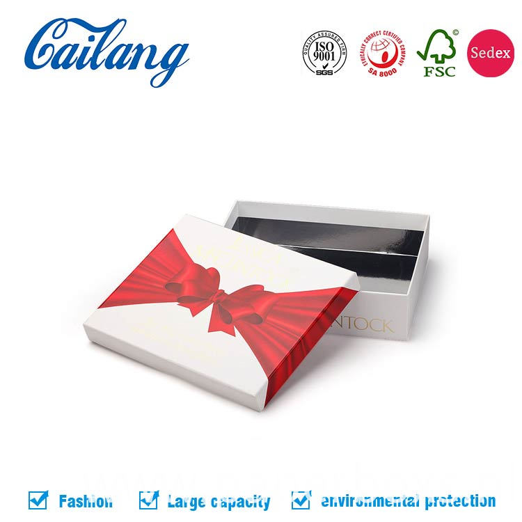 cosmetic lid and base paper packaging box with lid