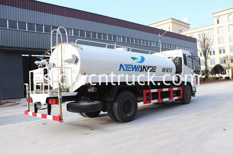 potable water tank truck cost
