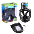 New underwater scuba diving set black mask RKD