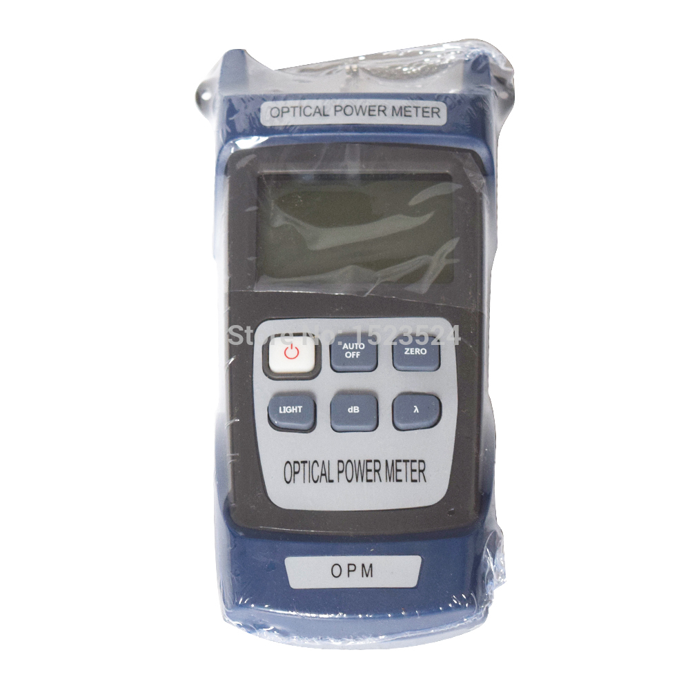 Free Shipping Fiber Optical Power Meter Fiber Optical Cable Tester -70~+10dBm or -50~+26dBm with FC SC Connector