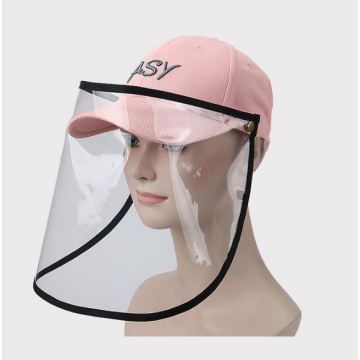 Prevent droplets basketball cap protective faceshield mask