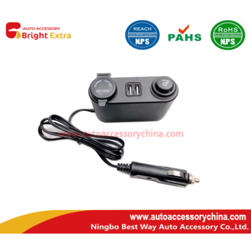 Socket of vehicle cigarette lighter