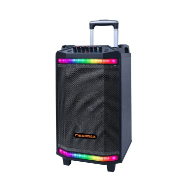Best Bluetooth Trolley Speakers With RGB Lighting