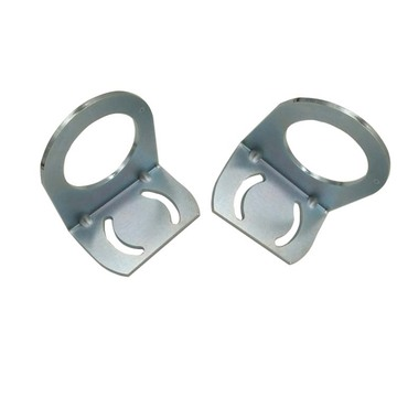 Custom small metal stamping L shaped metal brackets