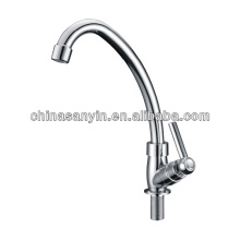 Plastic water tap faucet in white
