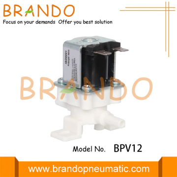 Plastic RO System Water Solenoid Valve For Domestic