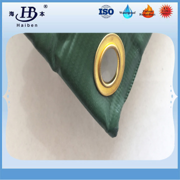 Heavy duty waterproof industrial pvc finished tarps