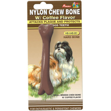 "Percell 4.5"" Soft Chew Bone Coffee Scent"