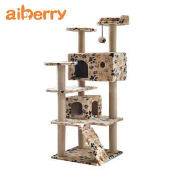 Aiberry Cat Wooden Scratching Scratcher Trees Furniture