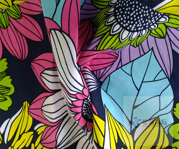 Cotton Fabric Wax Print Garment Fabric