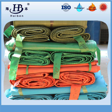 High temperature resistance fireproof fiberglass pvc coated tarpaulin