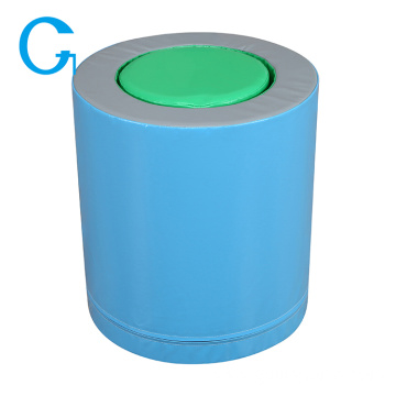Kids Soft Play Equipment Round Barrel
