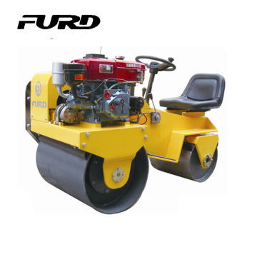 Factory Price Double Drum Ride On Soil Compactor (FYL-850)