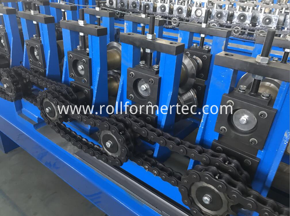custom made J profile rollforming line (2)