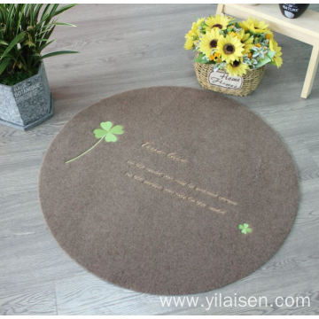 Personalized embroidery logo door mats