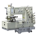 4-needle flat-bed double chain stitch sewing machine(for shirt fronting)