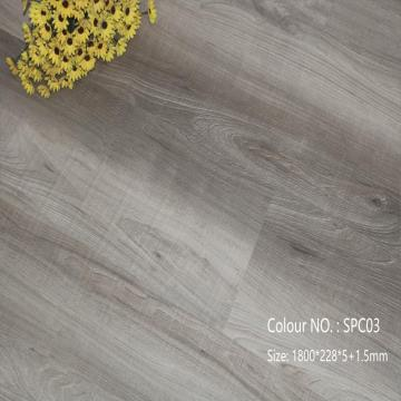 6mm Easy click non slip spc flooring