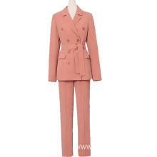 Office lady business coat women pant suit