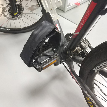 Hold Fast Exercise Bike Pedals Straps