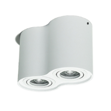 Dimmable Round White 2 * 7W LED Downlight