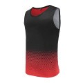 Mens Dry Fit Soccer Wear Vest Red
