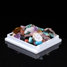 1 Box-Packed Quartz Crystal Mineral Specimen Natural Rough Ore Raw Gemstone Energy Stones Collectible Jewelry Making Home Decor
