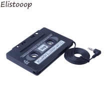 3.5mm Jack Car Cassette Universal Car Audio Cassette Tape Adapter for iPod MP3 CD DVD Player Black Car Stereo