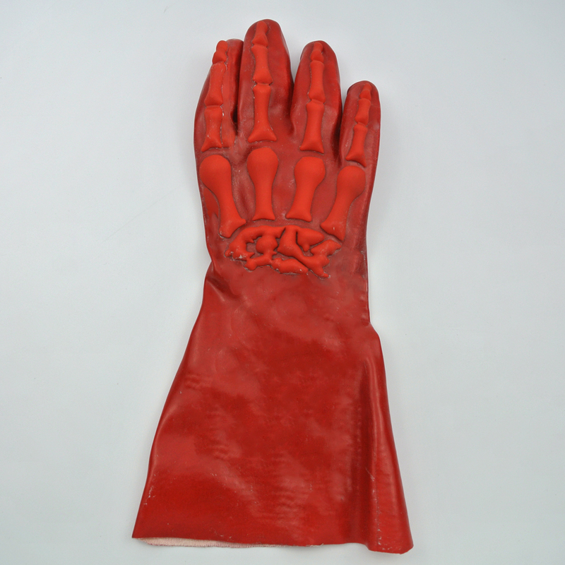 New style PVC glove with TPR