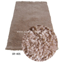 Polyester & Acrylic Carpet with Plain Color
