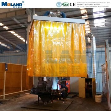 Hood Suction Fume Extraction For Welding Workstation