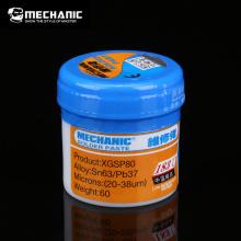 MECHANIC XG-80 60g Solder Paste Flux Welding Paste Flux Sn63/Pb67 25-45um For Mobile Phone SMD SMT BGA Repair Tools