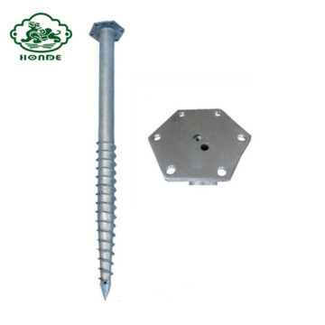 Galvanized Q235 Helix Ground Screw Anchor