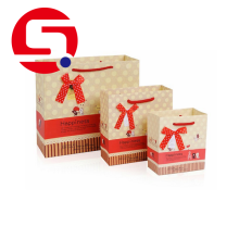 Xmas paper bags for food packaging