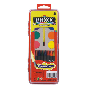 Water Color and Crayon Set