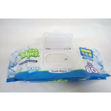 Private Label Organic Hypoallergenic Baby Wet Wipes