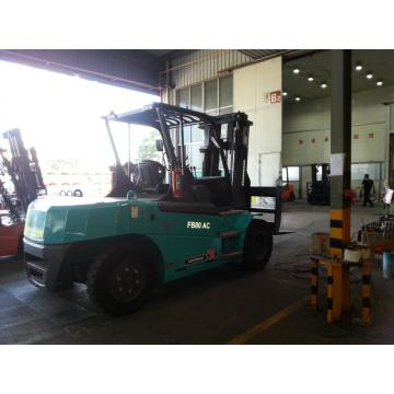 8 Ton Electric Forklift With Long Forks