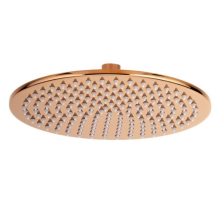 Luxury Rose Gold Brass Shower Head