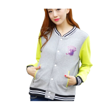 Womens Custom Cute Trendy Embroidery Design Varsity Jackets