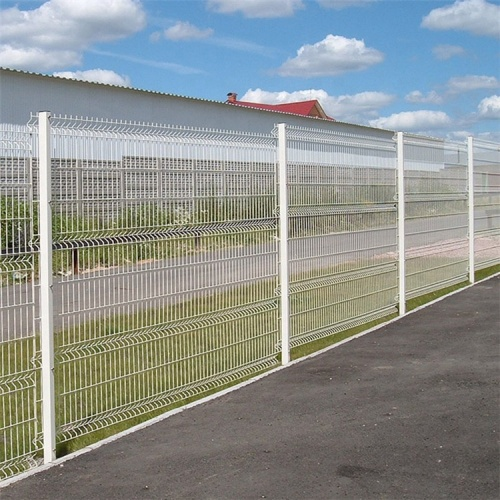 Galvanized bending Welded Iron Wire Fence