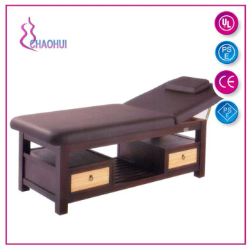 Comfortable Wooden Facial Spa Bed With Price