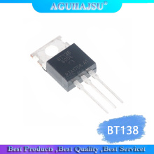 10PCS BT138-600E TO220 BT138-600 TO-220 BT138 new 12A/600V In-Line TO-220 New Thyristor/Two-Way SCR