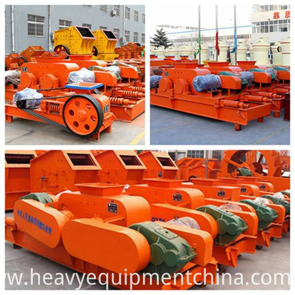 Double Roller Crushing Machine