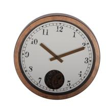 12 Inch Rustic Gear Wall Clock