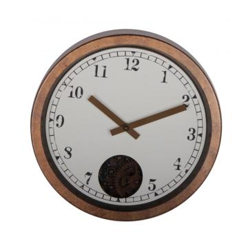 12 Inch Retro Rustic Gear Wall Clock